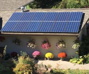 Garage Mount Solar PV